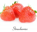 Strawberry juice with Stevia